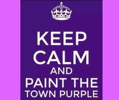 & The Town Purple& with the Greater Middletown Relay for Life.