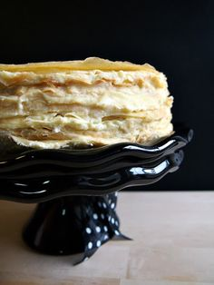 A Baked Creation: Mille Crêpes Cake