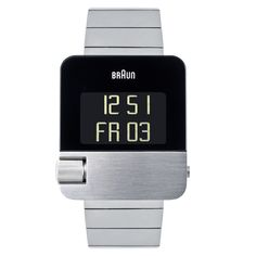 Braun Men's Prestige Digital Watch BN0106SLBTG only £360 @ www.clockwize.co.uk