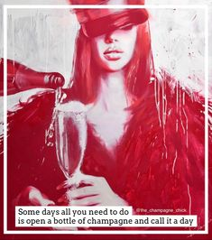 #champagnequote Champagne Quotes, Glass Of Champagne, Original Art, Original Paintings, Save Water, Conceptual Art, Oil Painting On Canvas, Drinking Water, Lovers Art