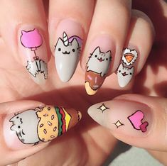 Puuuurfect Cat Manicures Nail Designs For Catlovers cool 20 Puuuurfect Cat Manicures Nail Designs For The Cat Lover In You - !cool 20 Puuuurfect Cat Manicures Nail Designs For The Cat Lover In You - ! Manicure Nail Designs, Nail Manicure, Nail Art Designs, Nails Design, Gel Manicures, Classy Nails, Simple Nails, Trendy Nails, Cat Nail Art