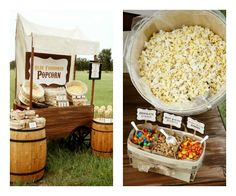 A beautiful collection of designer wedding dresses, find a bridal shop near you and find your perfect gown Popcorn Wedding Favors, Wedding Snacks, Popcorn Station, Popcorn Bar, Wedding Inspiration, Wedding Ideas, Designer Wedding Dresses, Table Centerpieces, Wedding Bells