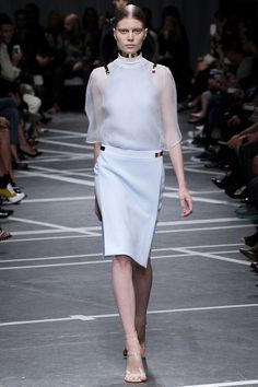 """Givenchy, S/S 13, Paris - """"Back to the roots,"""" inspired by the house couture of 60's"""