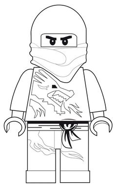 coloring page Lego Ninjago - Lego Ninjago I will have to print these out by the 100's!