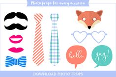 download photo props for every occasion
