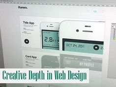 Creative Depth in Web Design http://www.webdesign.org/creative-depth-in-web-design.22331.html