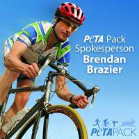 The #PETAPack spokesperson this year is professional #vegan triathlete Brendan Brazier! Join the team today: PETA.ORG/RACE