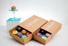 cupcake packaging by campbell hay #campbellhay #packaging #cupcakes