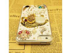 3D Happy #Crystal Elephant iPhone 5/5S Case