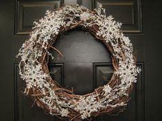 Nice winter wreath for post Christmas season.