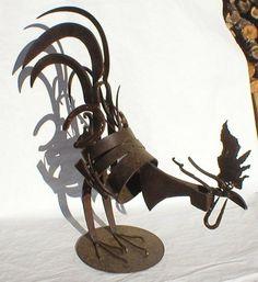 Villamblard Sculptures: January 2009