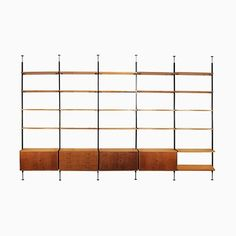 Vintage Free Standing Wall Unit by Ulrich P. Wieser for Wohnbedarf