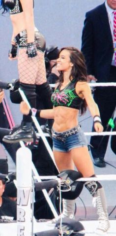 As lee diva superheroine aj wwe