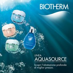 Biotherm Acquasource.  #unix #profumerie Commercial Ads, Ocean, Skin Care, Cosmetics, Makeup, Innovation, Deep, Beauty, Water