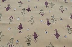 Kitschy Corn Vintage Fabric Novelty 50s 36 by thoroughbredthreads