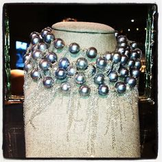 Fresh Water Pearl Fringe Necklace!  Twitter / Recent images by @Samira13Jewelry