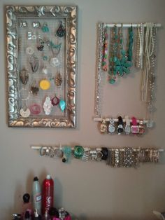 easy do it yourself wall jewelry display