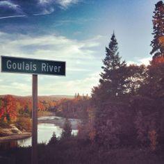 Goulais River near Sault Ste. Marie, ON