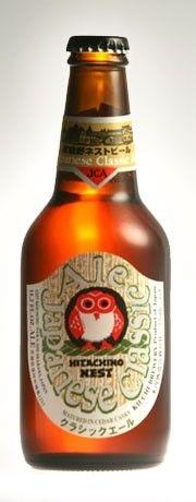 Cerveja Hitachino Nest Japanese Classic Ale, estilo India Pale Ale (IPA), produzida por Kiuchi Brewery, Japão. 7% ABV de álcool.
