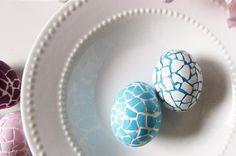 originaux idée de déco en mosaïque des œufs de pâques originaux ...
