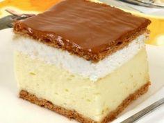 *** Gastro: Perfect homemade creamy recipe – Sweet World Ideas My Recipes, Sweet Recipes, Cookie Recipes, Dessert Recipes, Hungarian Desserts, Hungarian Recipes, Bread Dough Recipe, Just Eat It, Dessert Drinks
