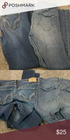 Hollister jeans set One pair jeans one pair jeggings Hollister Jeans Skinny
