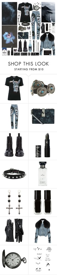 """be my crazy rabbit. i can't wait anymore"" by nothingisnormal ❤ liked on Polyvore featuring McQ by Alexander McQueen, Identity, Faith Connexion, Dolce&Gabbana, Korres, Dr. Martens, Once Upon a Time, Lipstick Queen, Givenchy and The New Black"