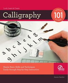 Calligraphy 101: Master Basic Skills and Techniques, Free E-Book