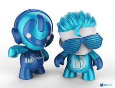Mascot design for CityEvents.com by kariagekun
