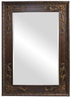"""Lila Antique Gold Leaf Mirror 60""""x84""""x3"""""""