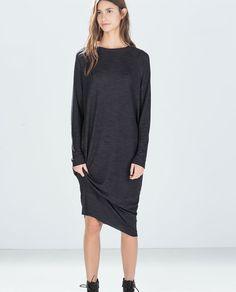 ZARA - NEW THIS WEEK - OVERSIZE RIBBED DRESS