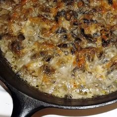 Mushroom Casserole {THM: S Side Dish} - Blueberries and Blessings