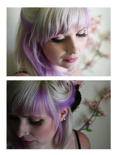@Helene Marcantonio can we do this to your hair when it's blonde