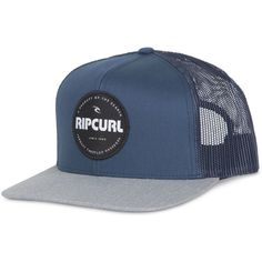 b260abfc00258 Rip Curl Men s Style Master Trucker Hat ( 22) ❤ liked on Polyvore featuring  men s