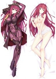 2017 New Fate Grand Order FGO Dakimakura Nude Scathach Anime Girl Body Pillow Case Covers