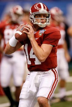 John Parker Wilson, QB; Holds most significant passing records in school history; #32 of Tide's top 50