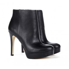 "Perfect platform leather booties at a fantastic price Sole Society ""Lyssa"", $69.95"