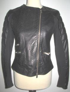 * * * IMPERIAL Kunstleder-Stretchjacke schwarz, ca.Gr.36 * * * | eBay
