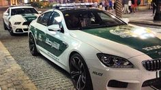 Dubai Police acquire M6 Gran Coupe, Roush Mustang. In a supercar heaven, the police cars match the civilian eye candy.