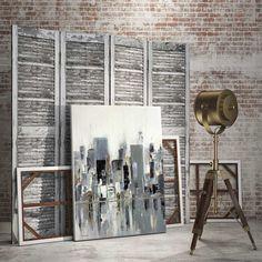 City Bridge - contemporary painting by Aziz Kadmiri. Painter, Artwork, Art, Fine Art, Urban, Wall Decor, Home Decor, Posters, Canvas, Prints, Art Publishing Canadian Art, Life Design, Canvas Prints, Art Prints, Design Development, Contemporary Paintings, Graphic Design Art, All Art, Accent Decor