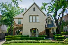tudor style house | ... and classic, the yard continues the 1930's Tudor charm and style