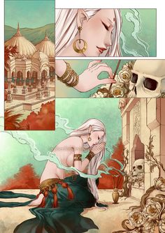 Eros and Thanatos comic by orpheelin.deviantart.com on @deviantART