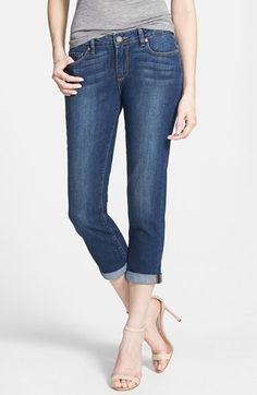 Paige Denim 'Jimmy Jimmy' Skinny Crop Jeans (Rebecca) available at #Nordstrom