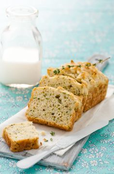 Gf Zucchini Gruyere Bread
