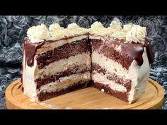 Pofonegyszerű gesztenye torta - YouTube Tiramisu, Favorite Recipes, Sweets, Make It Yourself, Cake, Ethnic Recipes, Food, Youtube, Sweet Pastries
