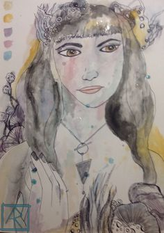 Developing process/ watercolour sketch Watercolor Sketch, My Drawings, Painting, Art, Art Background, Painting Art, Kunst, Gcse Art, Paintings