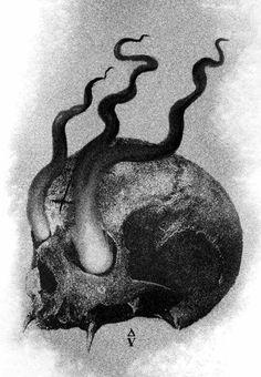 Skull Art by Daniele Valeriani