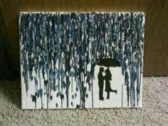 Image detail for -Melted Crayon On Canvas - Serbagunamarine.com