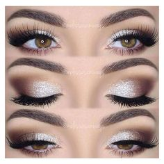 Brown Smoky Eye ❤ liked on Polyvore featuring beauty products, makeup and eye makeup