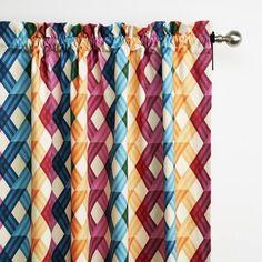 rideau multicolore à galon fronceur Motif Floral, Curtains, Prints, Diy, Inspiration, Bunt, Home Decor, Gallery, Bricolage